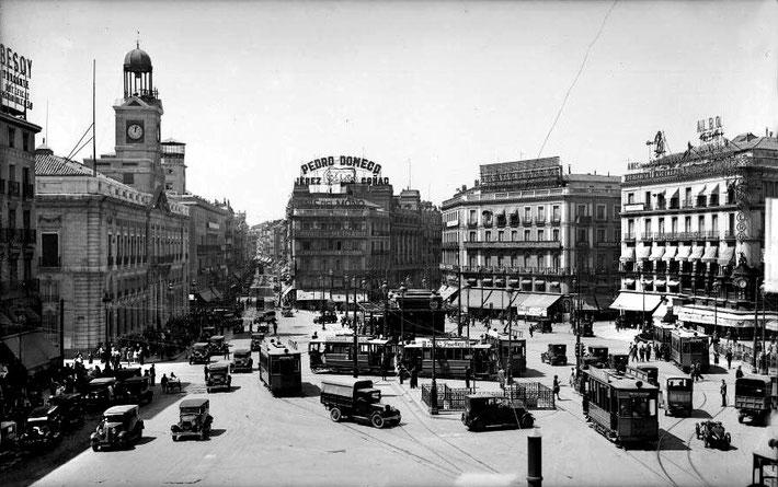 Puerta del Sol, 1933