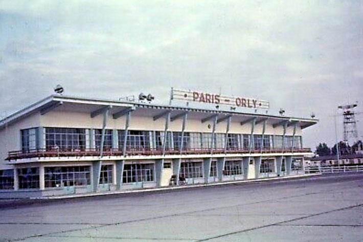 1950s Terminal building