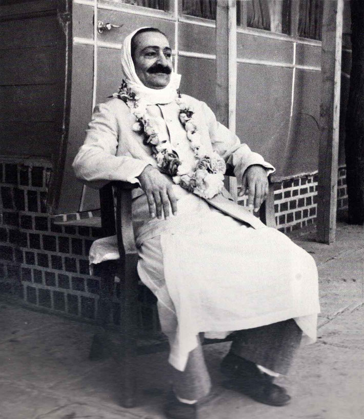 LP : February 1952 - Meher Baba at Meherazad, India