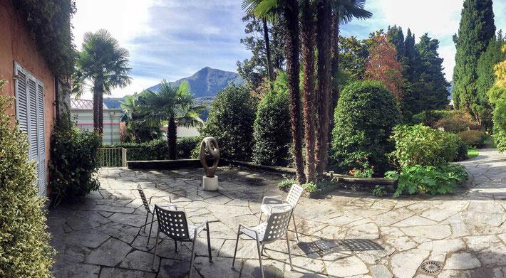 The terrace at Solduno, Ticino, Locarno