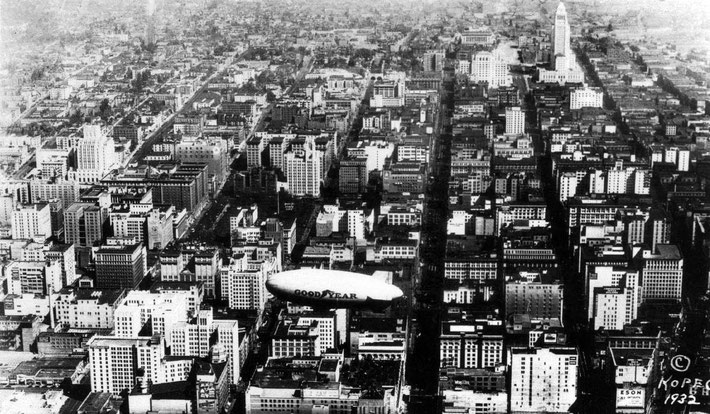 1932 : Downtown Los Angeles