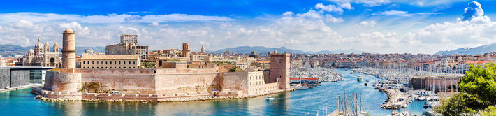 Present-day Marseilles