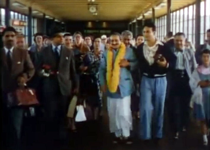 1956 : San Francisco Airport terminal