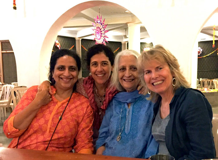 ( L-R ) : Meherukh Mistry , ---, Havovi & Pamela Butler-Stone
