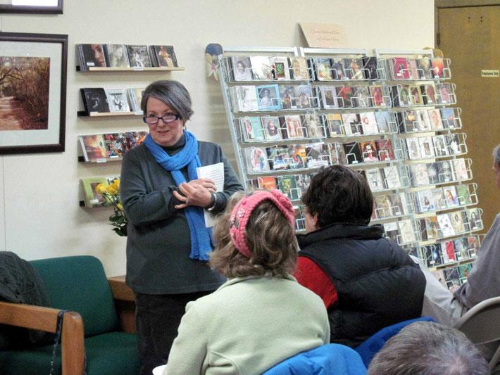 Winnie at Sheriar Bookshop