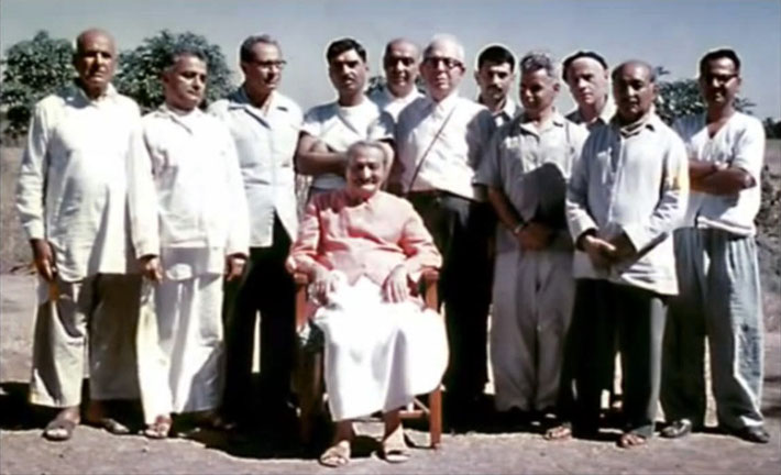 Meherjee is 3rd from the left