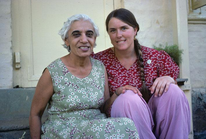 Vesta with Goher Irani in India