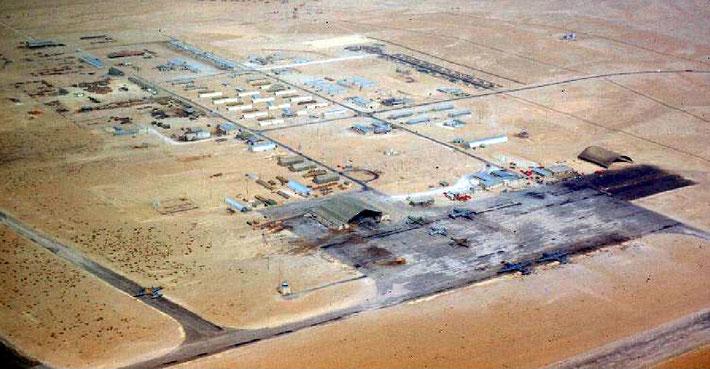 Dhahran Air Field, Saudi Arabia, 1950