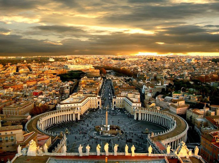 View from the Vatican