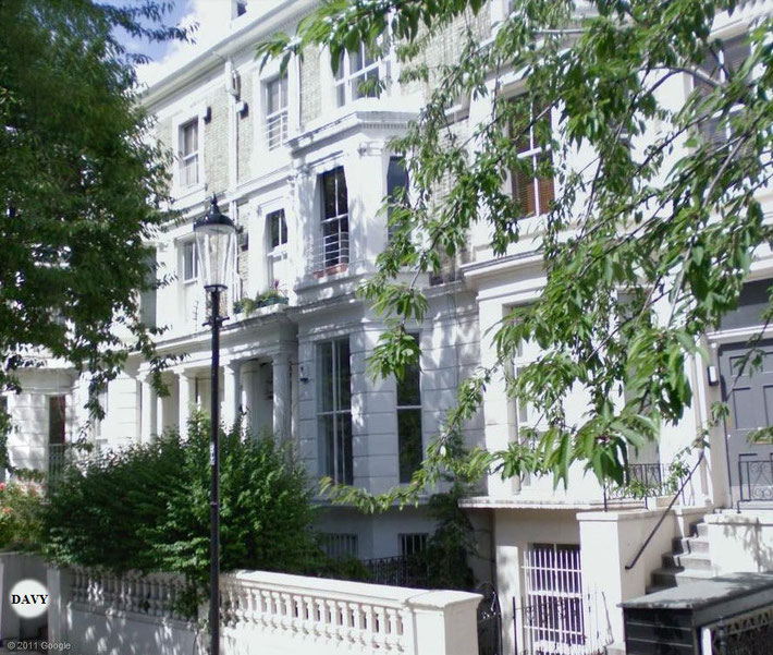Meher Baba stayed at the Davy's home - 32 Russell Road, Kensington, London,UK., whilst in London.