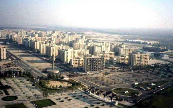 1991 photos of Kobartowers in Dhahran, Saudi Arabia