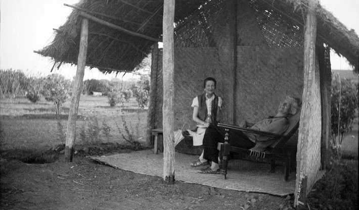 MSI Collection ; Nonny & Ruano in India during the 1930s