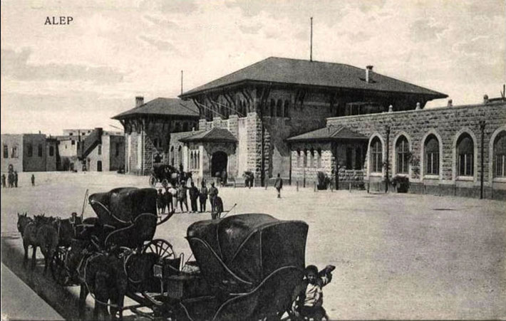 ALLEPO  RAILWAY STATION, SYRIA