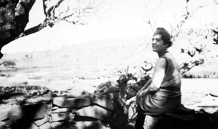December 1936 : GD Marie at Bhandardara, India. Photo taken by Elizabeth Patterson