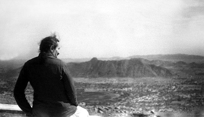 18th Feb. 1939 - Meher Baba at Taragarh Hill, Ajmer, India