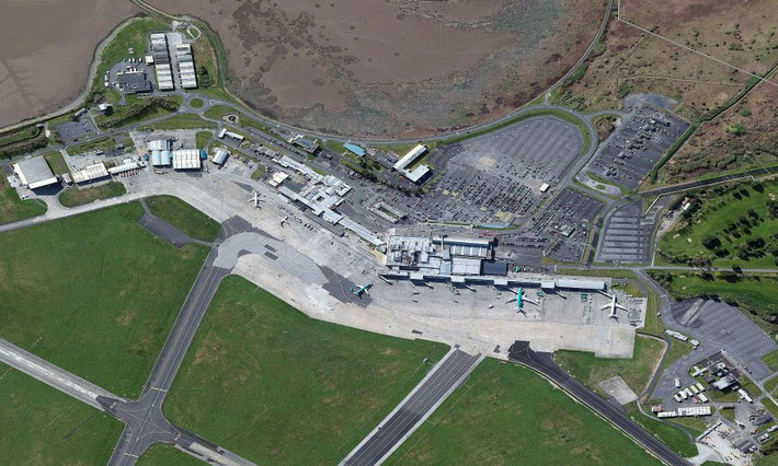 Present day : Shannon Airport, Ireland