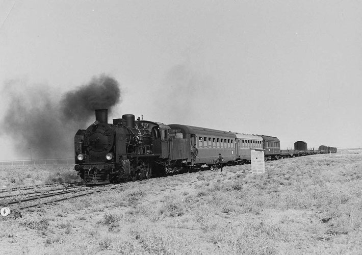 The Taurus Express between Baghdad and Aleppo, Syria