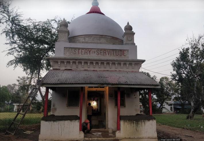 March 2020. Meher Kuti, Mandla, India. Image courtesy of Google