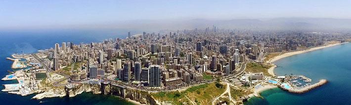 Present day Beirut