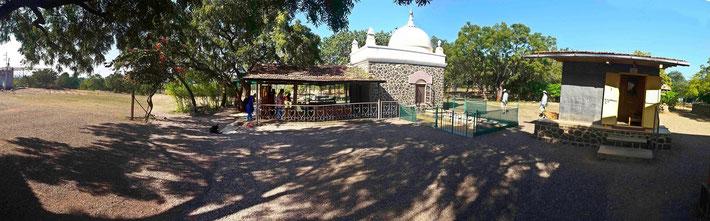 Meher Baba's Samadhi & Cabin, U.Meherabad, India