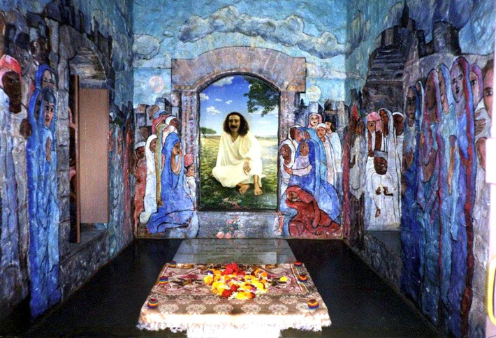 MEHER BABA'S Tomb interior after renovations