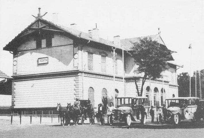 1930s : Konya Railway Station