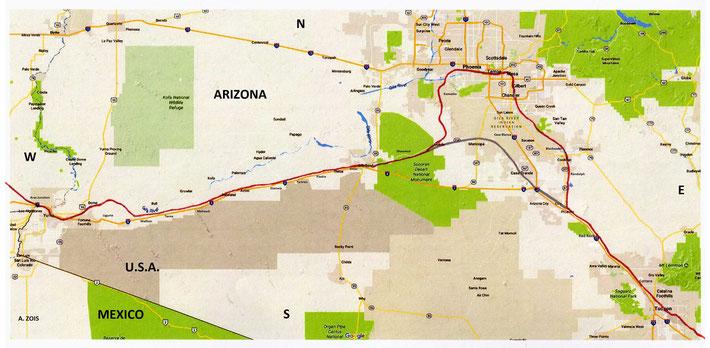 Tucson - Phoenix - Yuma