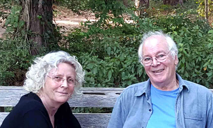 Oct. 2019 : Martin & Christine Cook at the Meher Centre, Myrtle Beach, SC., USA. Photo taken by Anthony Zois
