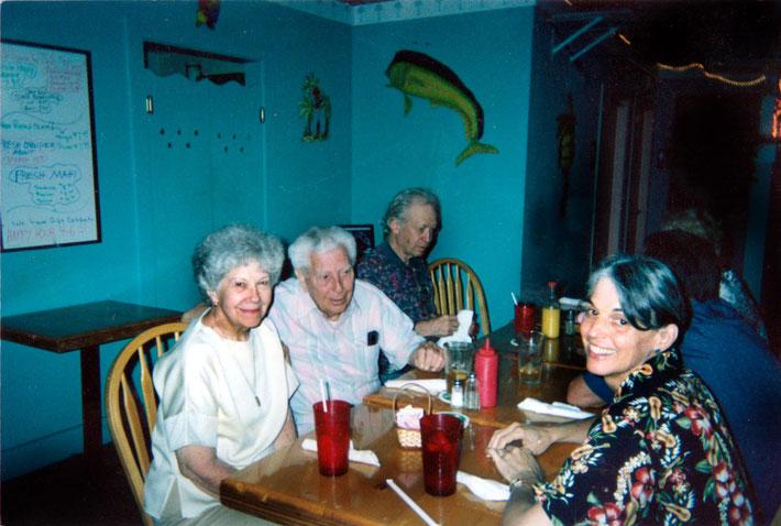 Myrtle Beach, SC. Mairaya with Ralph & Stella Hernandez and Craig Smith -1st April 2005
