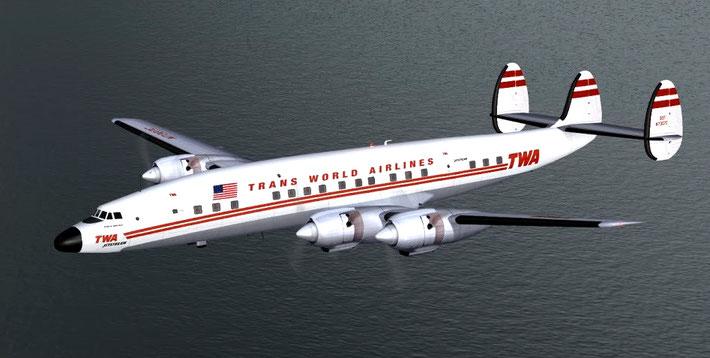 TWA Lockheed Clipper Constellation