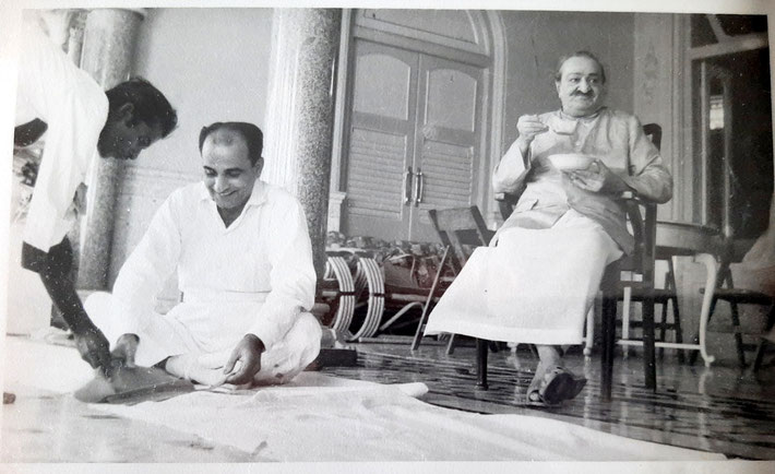 1960's -with Meher Baba in Guruprasad, Poona