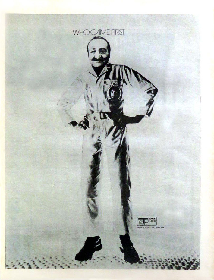 """1972 UK full-page ad Mefor Pete Townshend's LP """"Who Came First"""""""