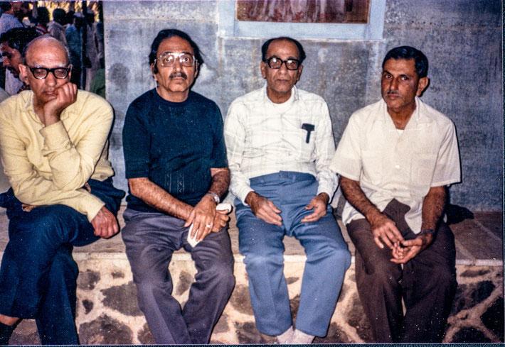 ( L-R ) Kumar, Sam, Jimmy Mistry & Meherwan Jessawala