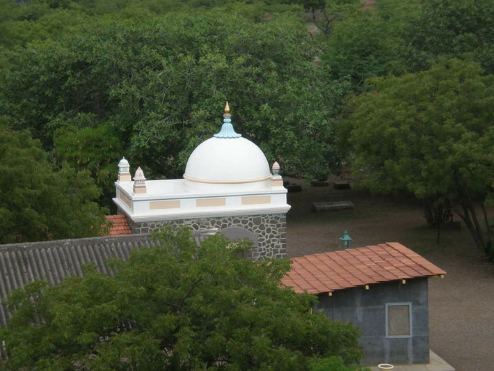 The Samadhi viewed from the Tower