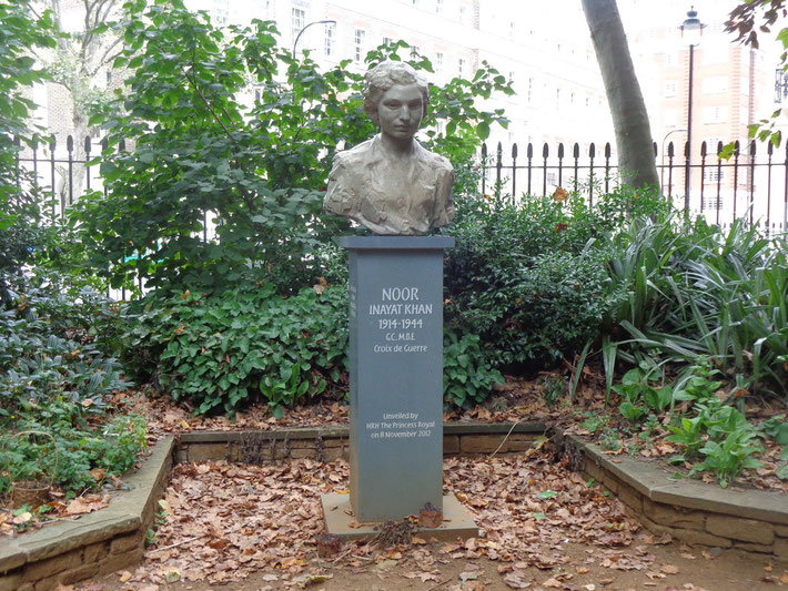 Noor's Memorial in London