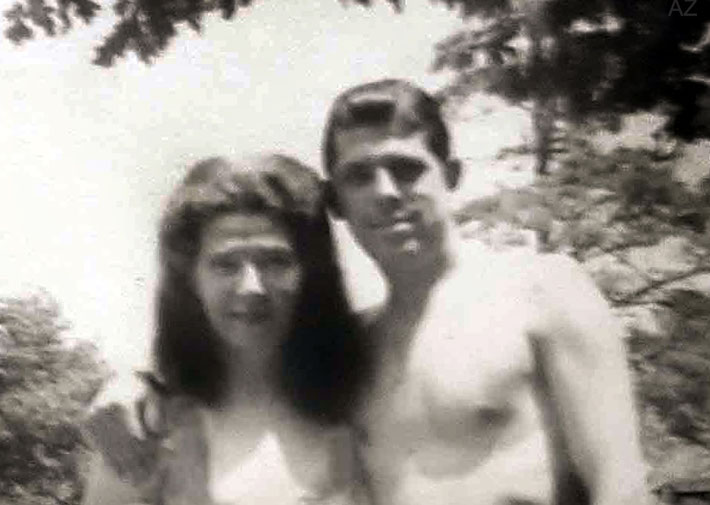Kim & Manuel Grajera - Summer holidays in June 1949. Courtesy of Anne Ross. ( cropped image )
