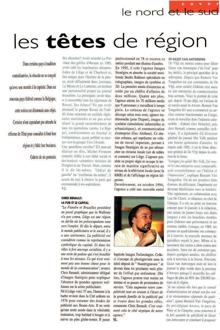 In Media Marketing - Interview Chris Renault (1995)