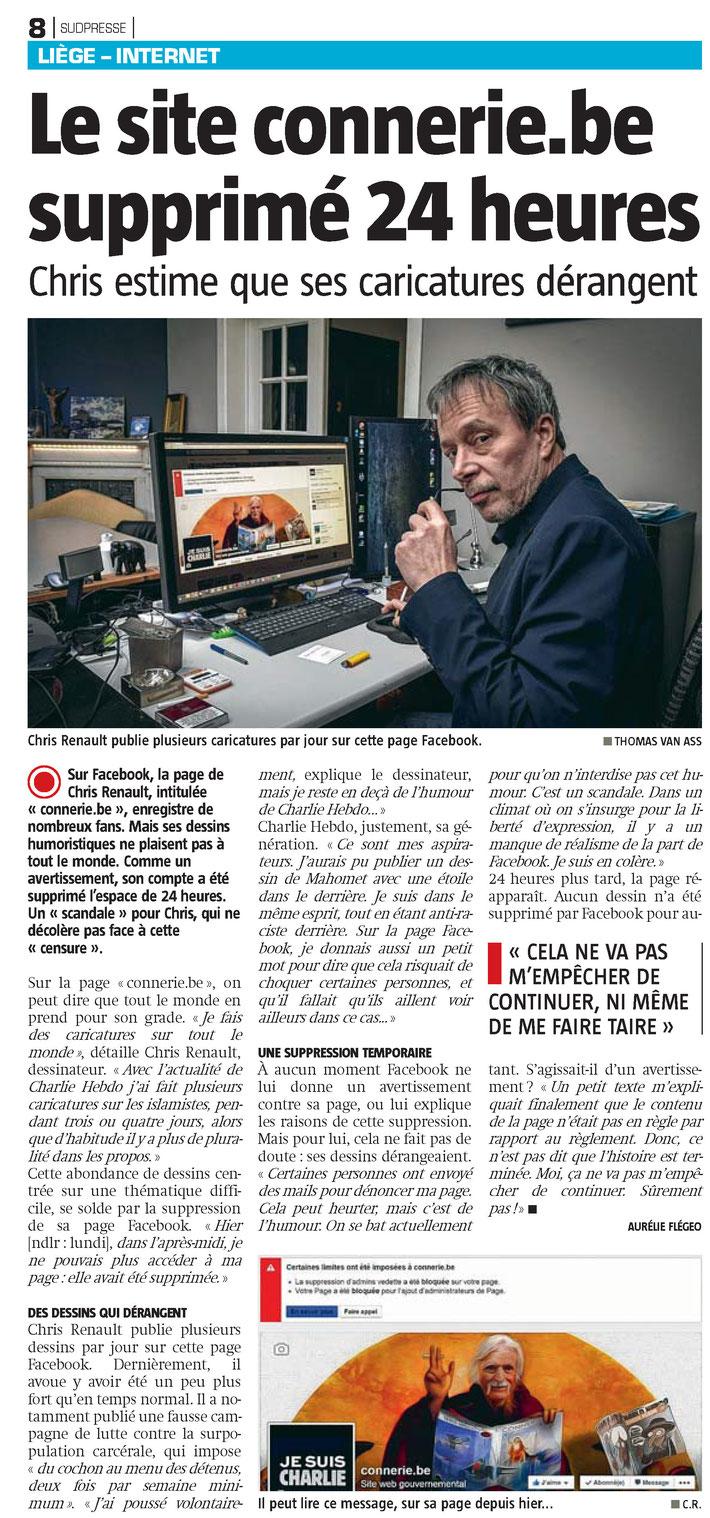 La Meuse / 14 janvier 2015