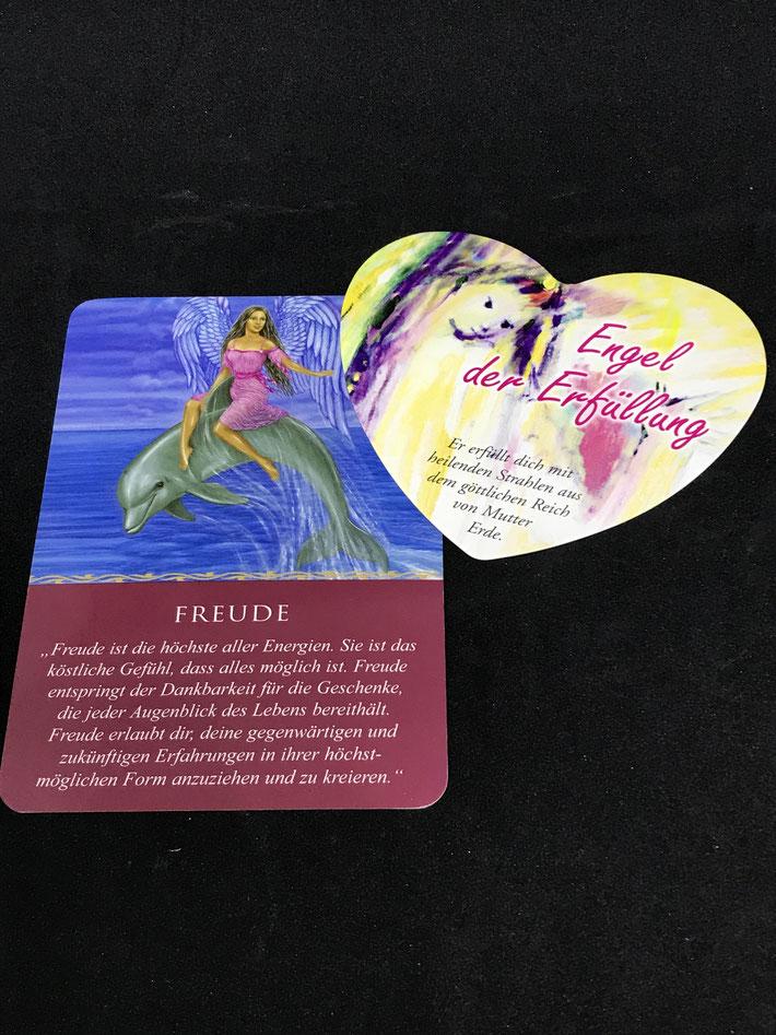 Das Engel-Orakel für jeden Tag von Doreen Virtue und Lichtengel Herzkarten von Sigrid Mahncke auf Phönixzauber