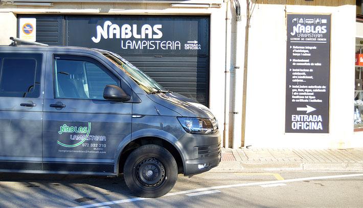 Nablas Lampisteria - Plaça Verge del Vilar, 12 - Els Pins (Blanes) Telèfon 972332210
