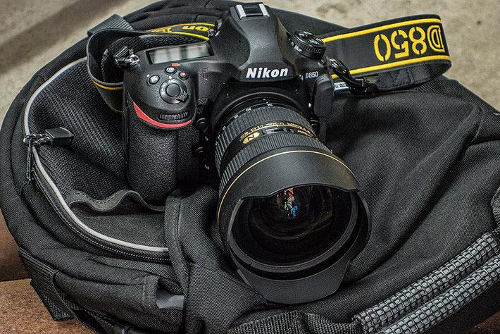 Praxistest NIKON D850 mit AF-S 14-24 mm 1:2,8. Foto: bonnescape.de