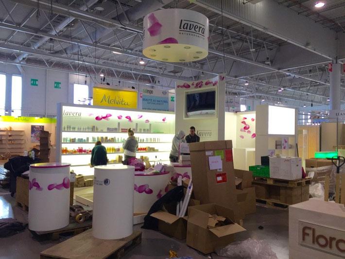 Messe Natexpo Paris  lavera Naturkosmetik