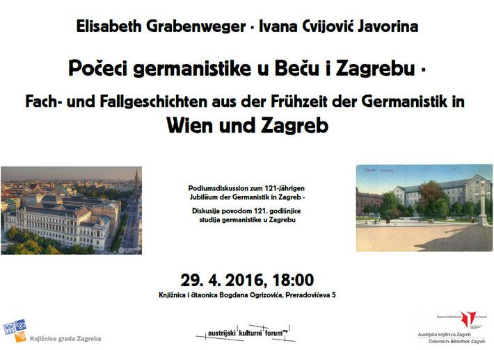 Die Veranstaltung würde abgesagt! Ihr Team der Österreich-Bibliothek Zagreb