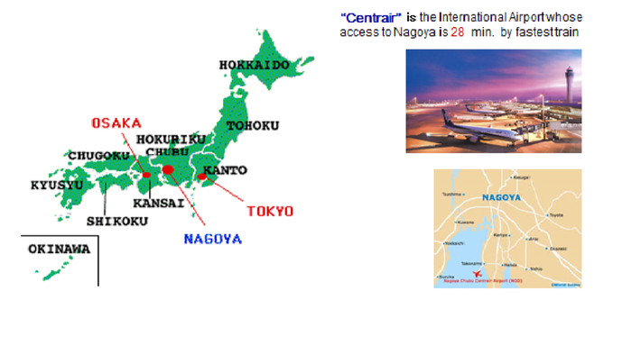 WELCOME TO THE INTERNATIONAL METROPOLIS CONFERENCE In AICHI - Japan map aichi