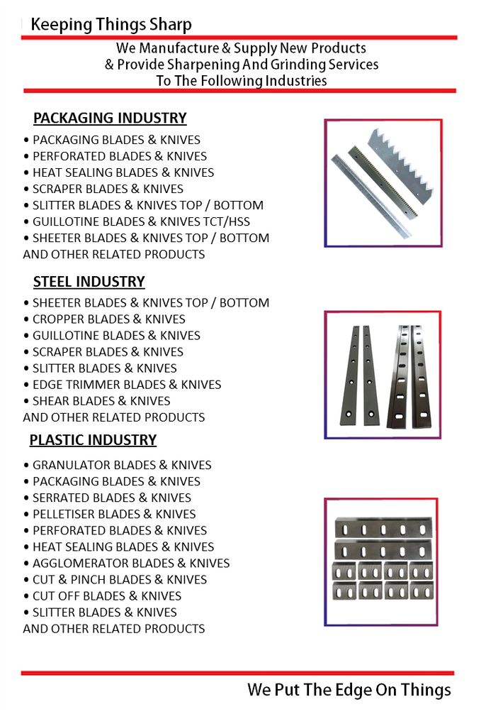Superior Blade & Grinding Service Company Brochure