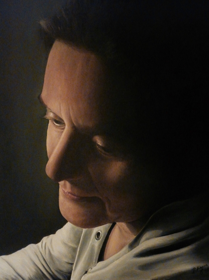 Sylvia - (Olieverf op karton/paneel 50 x 60 cm)