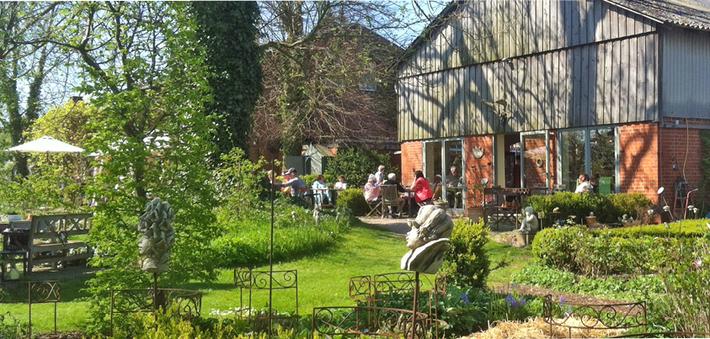 Bild: ein Ausflug zum Cafe Ehrgarten in Quaal