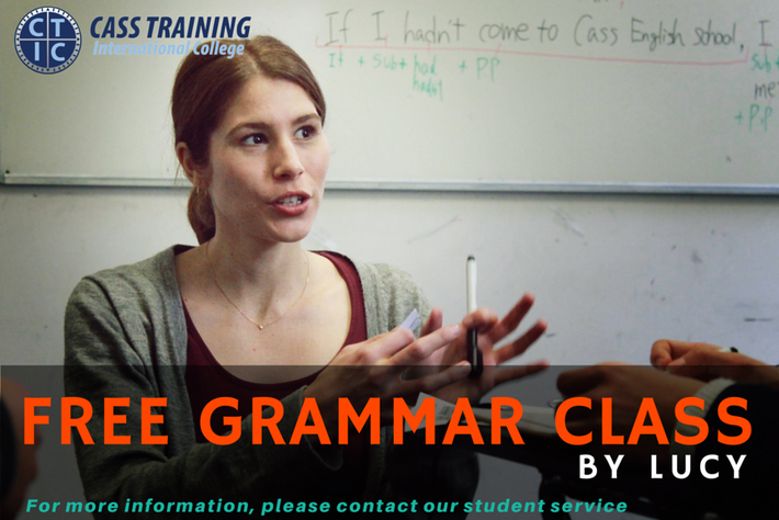 CASS TRAINING International College Grammer Couse(文法)が無料
