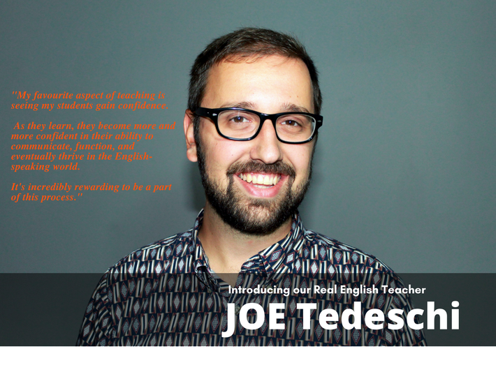 Joe Tedeschi CTIC English Teacher