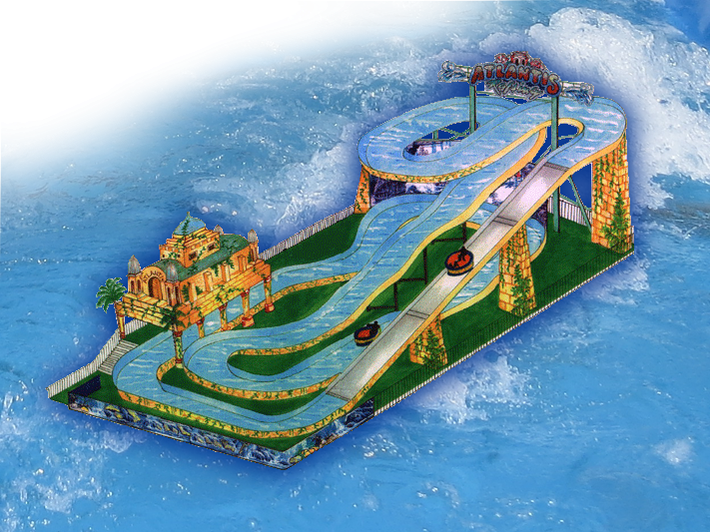 ATLANTIS RAFTING - ein kühnes Design für die ultimative Jahrmarkts-/Kirmes-WildwasserbahnATLANTIS RAFTING - ein kühnes Design für die ultimative Jahrmarkts-/Kirmes-Wildwasserbahn